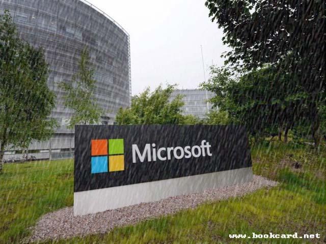 风雨中的微软
