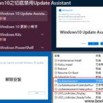 Windows10之切底禁用Update Assistant
