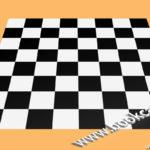 3ds Max 國制象棋棋盤